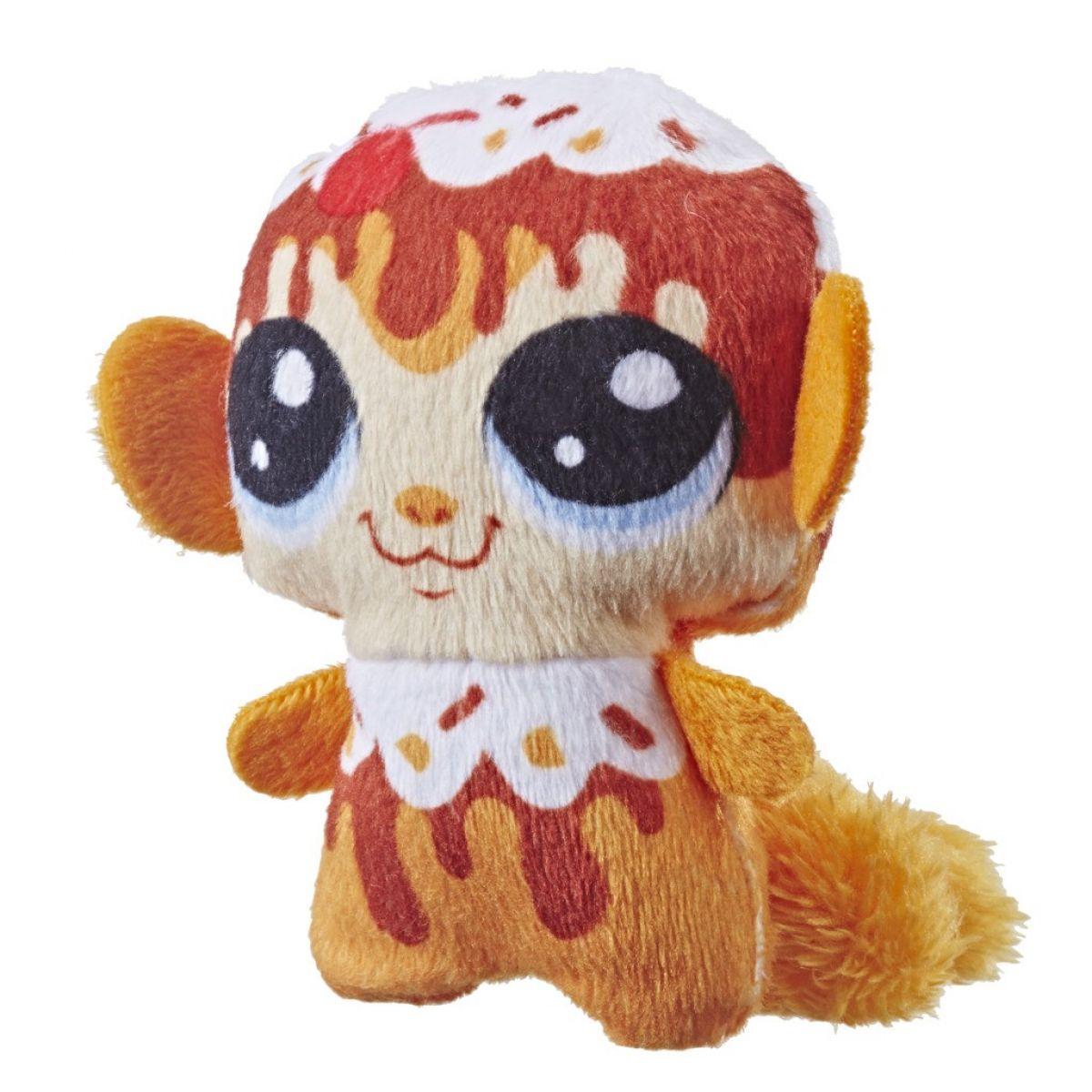 Hasbro Littlest Pet Shop Plyšové zvieratko ukryté v pitíčka oranžový