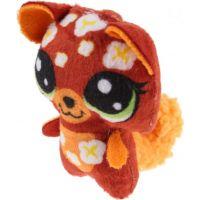 Hasbro Littlest Pet Shop Plyšové zvieratko ukryté v pitíčka oranžový 2