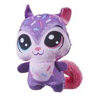 Hasbro Littlest Pet Shop Plyšové zvířatko ukryté v pitíčku růžový