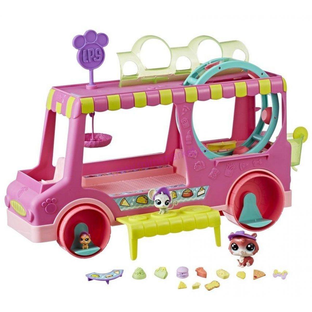 Hasbro Littlest Pet Shop Set cukrárske auto