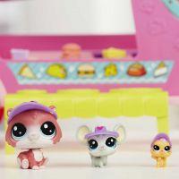 Hasbro Littlest Pet Shop Set cukrárske auto 3