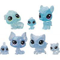 Hasbro Littlest Pet Shop Zvířátka z ledového království 7ks modrá