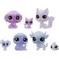 Hasbro Littlest Pet Shop Zvířátka z ledového království 7ks fialová