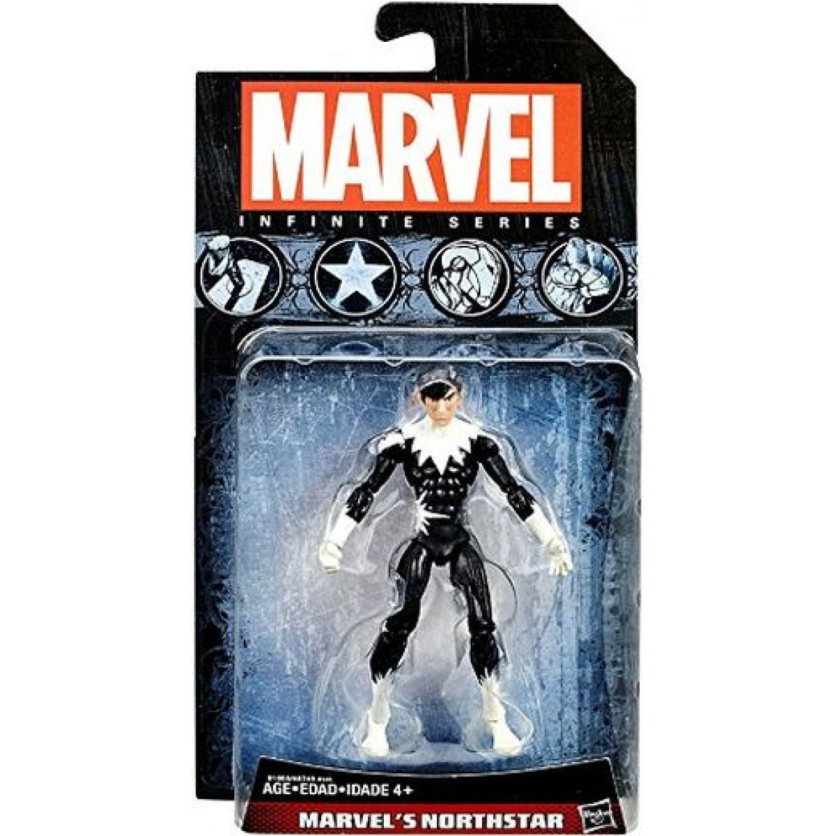 Hasbro Marvel Infinite series Marvel Northstar 10 cm