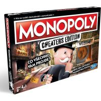 Hasbro Monopoly Cheaters edition CZ
