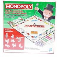 Hasbro Monopoly hra strieborné figúrky CZ 3