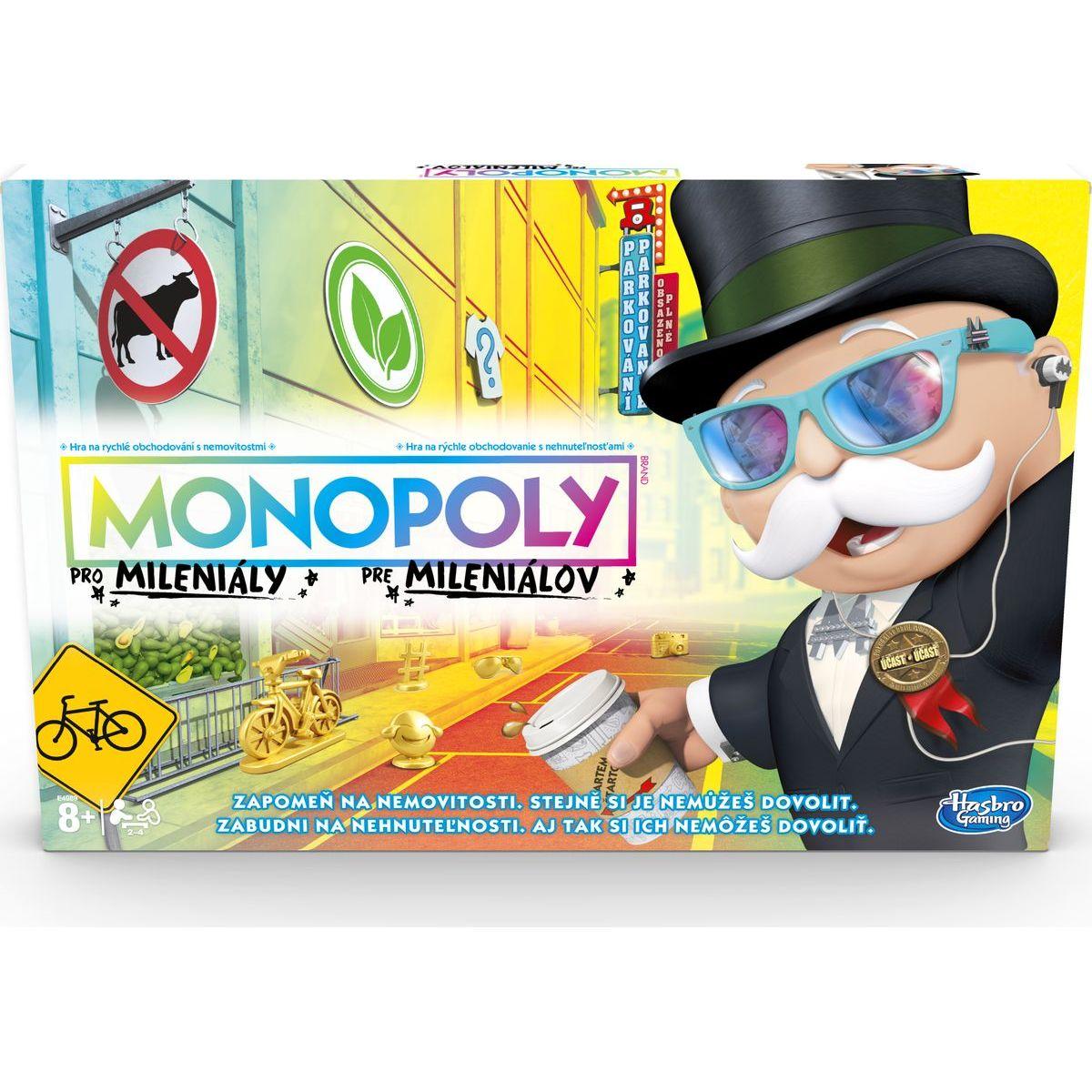 Monopoly pre mileniálov CZ-SK