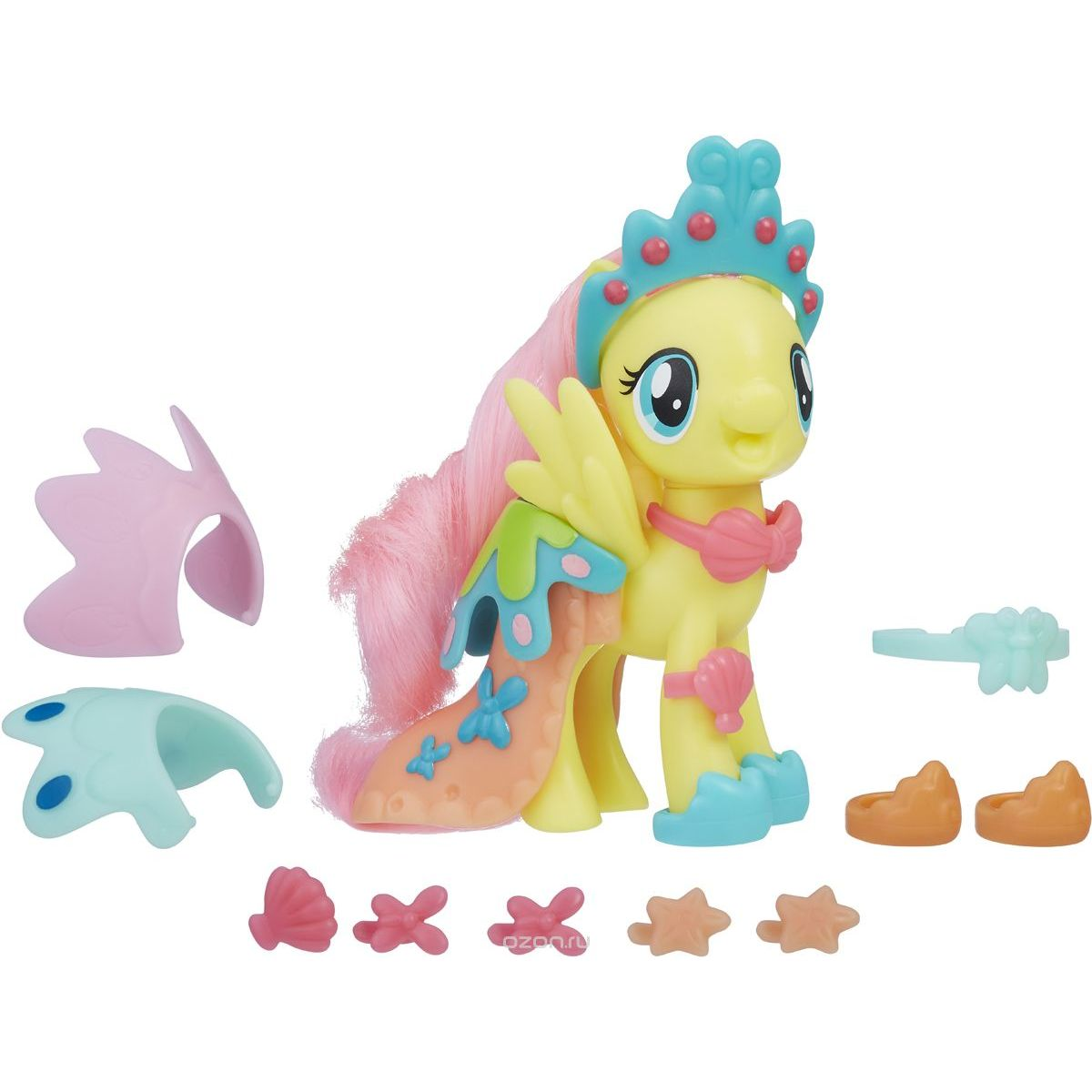 Hasbro My Little Pony Poník s módnymi doplnkami Fluttershy