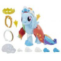 Hasbro My Little Pony Poník s módními doplňky Rainbow Dash