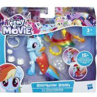 Hasbro My Little Pony Poník s módnymi doplnkami Rainbow Dash 2