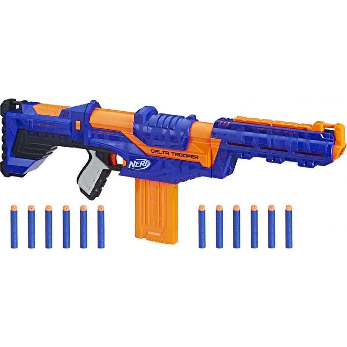 Hasbro Nerf N-Strike Elite Delta Trooper - Poškodený obal