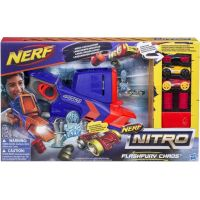 Hasbro Nerf Nitro Flashfury Chaos + 3 auta C0788