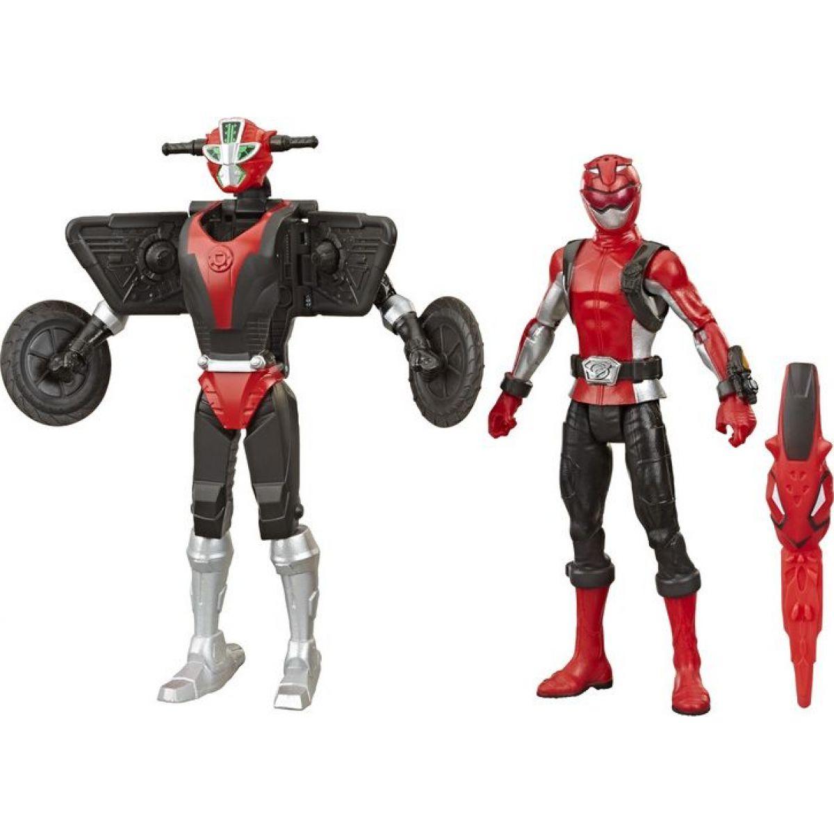 Hasbro Power Rangers 15cm akčná figúrka Beastbot Red Ranger