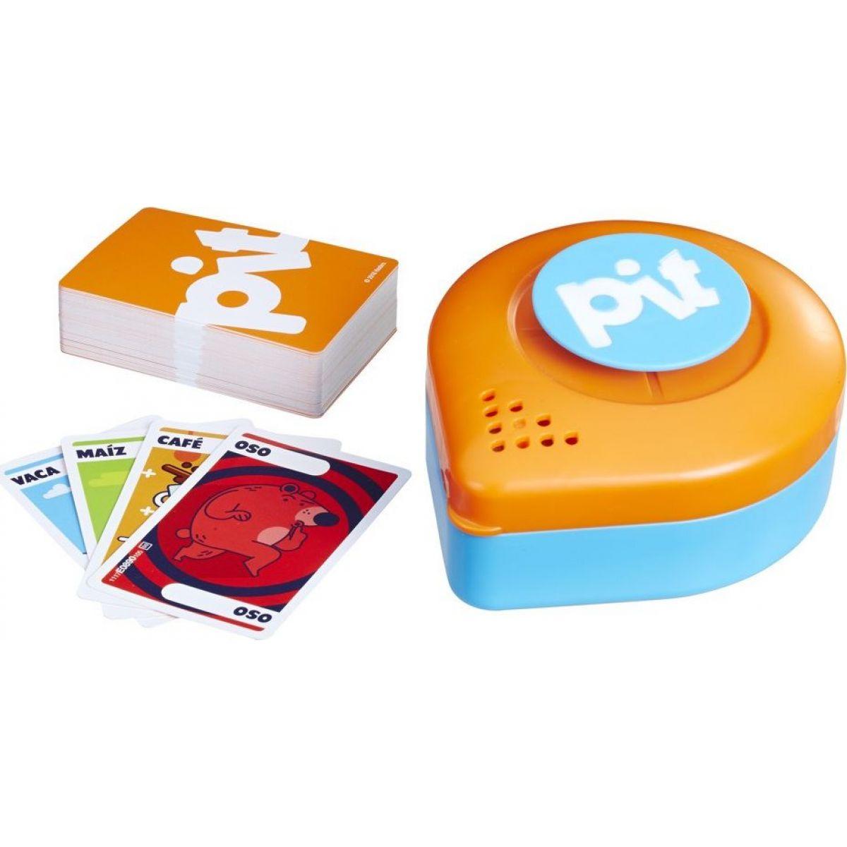 Hasbro spoločenská kartová hra Pit CZ SK