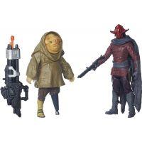 Hasbro Star Wars epizóda 7 dvojbalenie figúrok Sidon Ithano a First Mate Quiggold