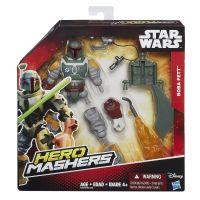 Hasbro Star Wars Hero Mashers prémiová Boba Fett 6