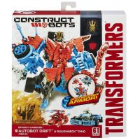 Hasbro TRANSFORMERS 4 Construct Bots Autobot Drift & Roughneck 3