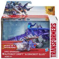 Hasbro Transformers 4 Transformeri na zvieratách - Autobot Drift a Dinobot Slug 2