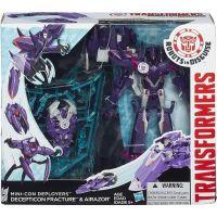 Hasbro Transformers RID Súboj Miniconů Fracture a Airazor 3