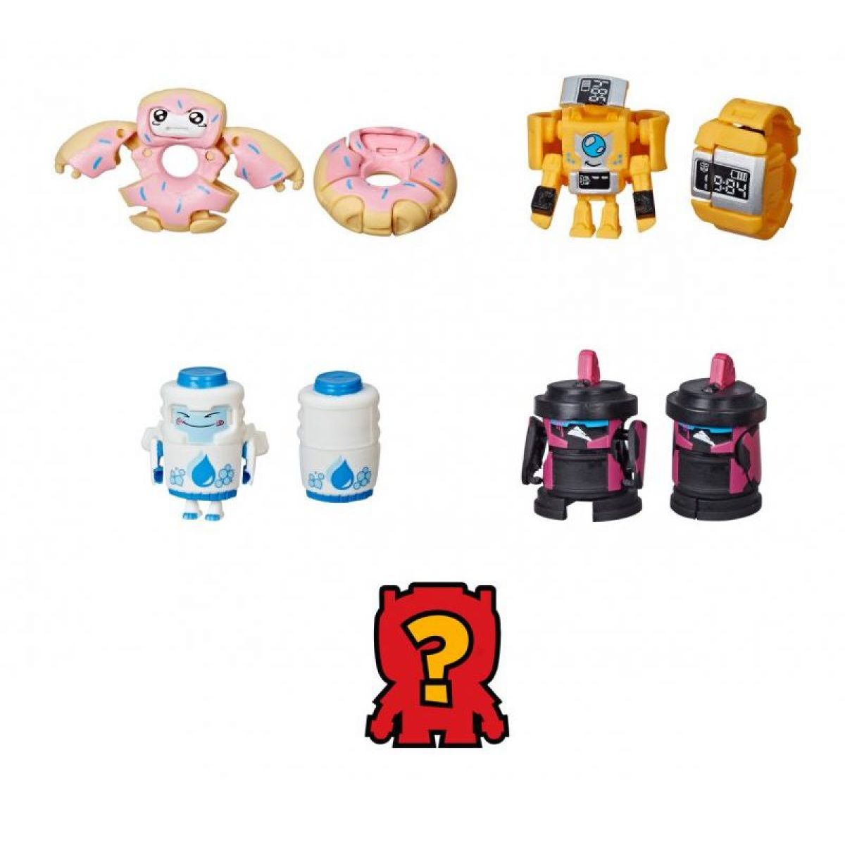 Hasbro Transfromers BotBots 5 figúrok E4137 donut