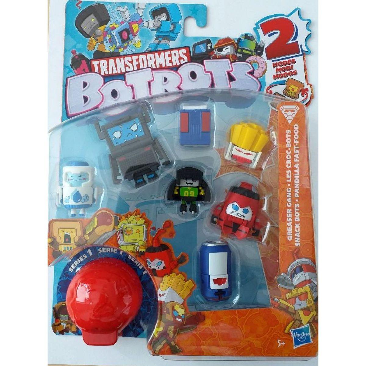 Hasbro Transfromers BotBots 8 figúrok Hranolky