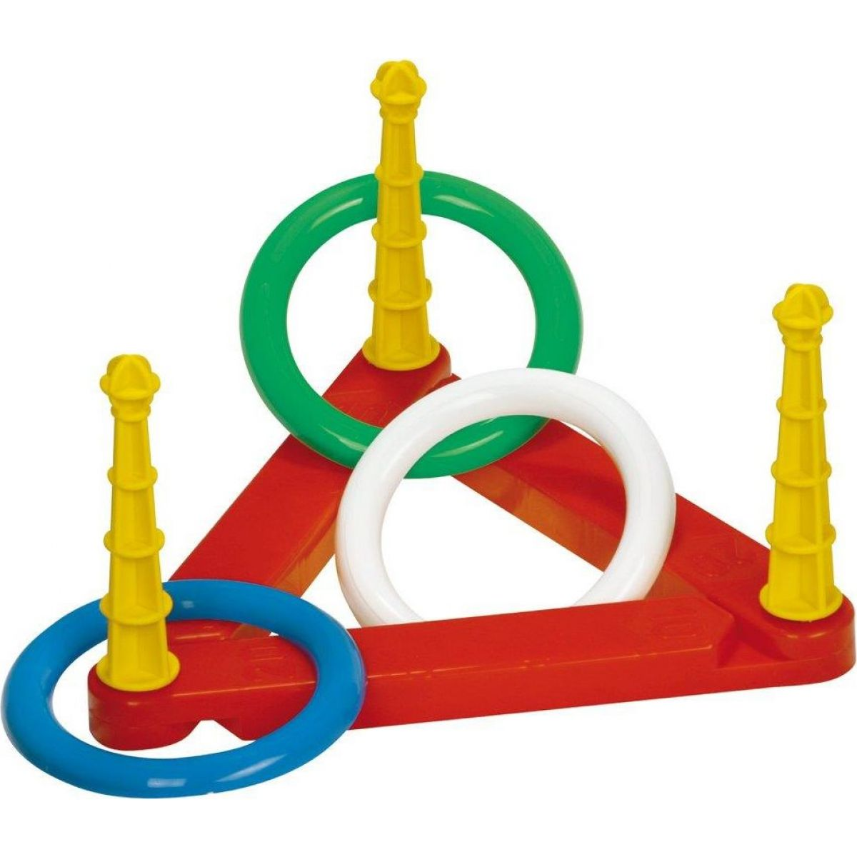 Toy Hádzacie krúžky plastové