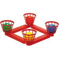 Toy Hádzacie loptičky do košíka plastové