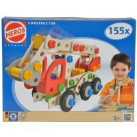 Heros Constructor 39085 Montážna stavebnica Hasičské auto 155d 4