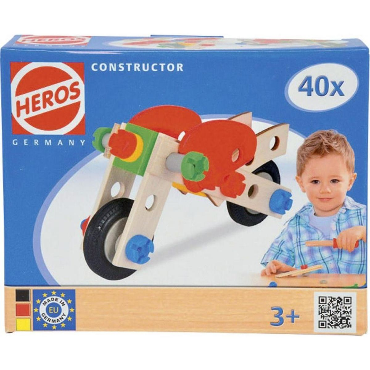 Heros Constructor Motocykel 40 dielikov