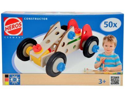 Heros Constructor Racer 50 dielikov