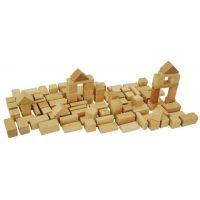 Eichhorn Dřevěné kostky přírodní 50ks 2