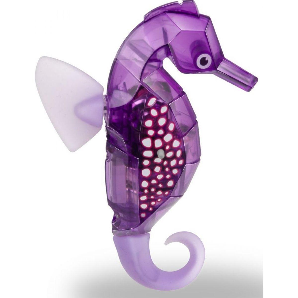 Hexbug Aquabot Morský koník s akváriom fialová
