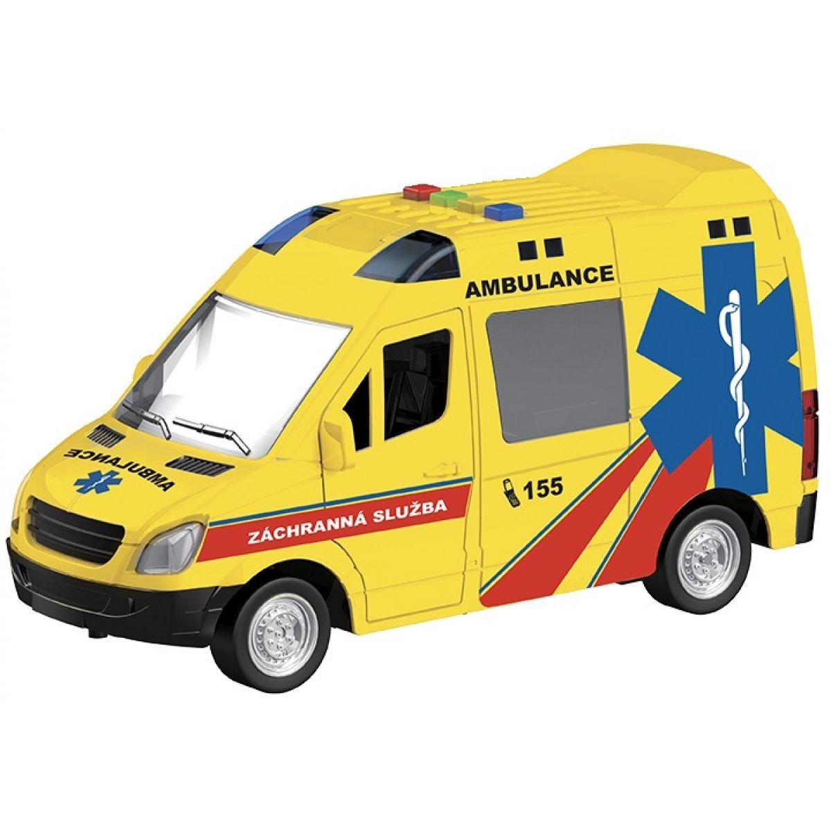 HM Studio Ambulancia 1:16 na zotrvačník