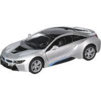 HM Studio BMW i8 1:36 stříbrný
