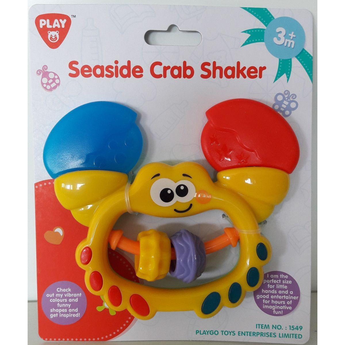 HM Studio Hrkálka krab žltý