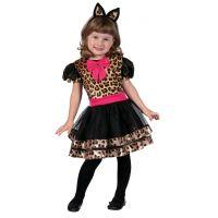 HM Studio Detský kostým Leopardie dievča 92 - 104 cm
