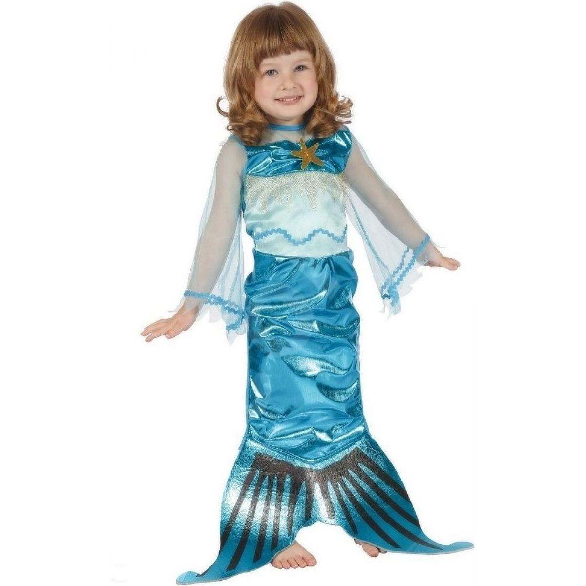 HM Studio Detský kostým Morská panna 92-104cm