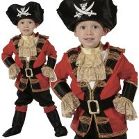 HM Studio Detský kostým Pirát 92 - 104 cm