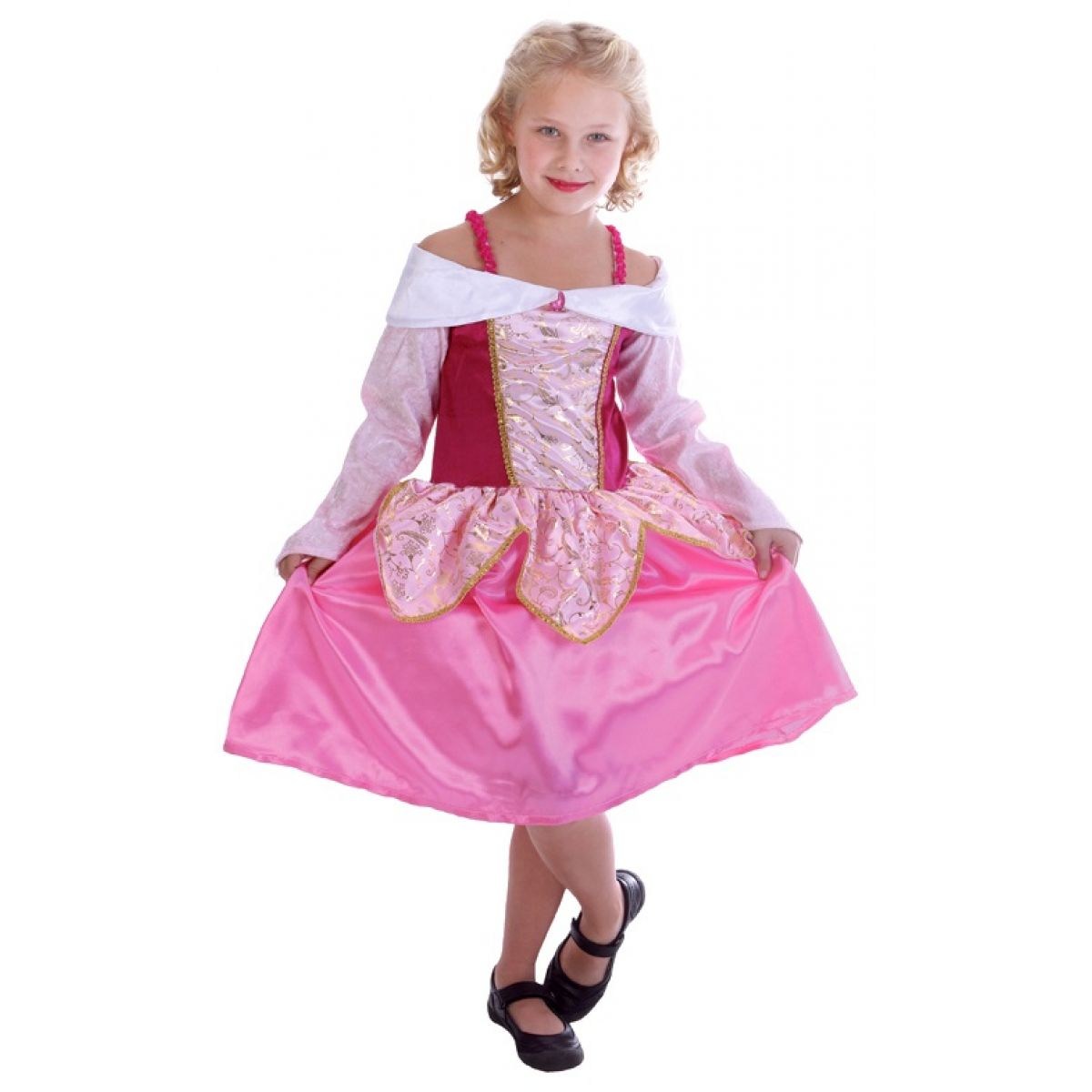 HM Studio Detský kostým Princezná 110 - 120 cm