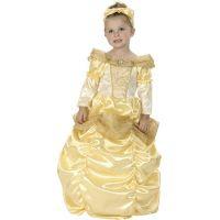 HM Studio Detský kostým Princezná zlatá 92-104 cm