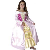 HM Studio Detský kostým Princezná Biele šaty 130-140 cm