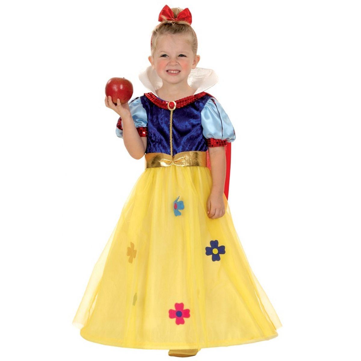 HM Studio Detský kostým Snehulienka 92 - 104 cm