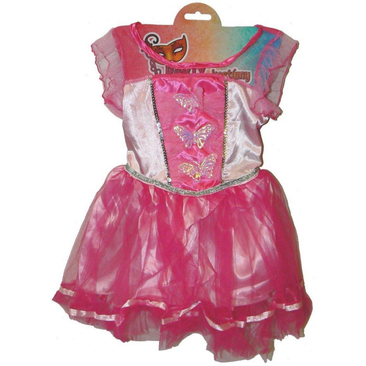 HM Studio Detský kostým Víla ružová