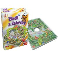 HM STUDIO 153336 - Hady a rebríky (cestovná hra)
