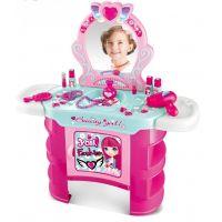 HM Studio Kosmetický stolek s příslušenstvím 23 ks