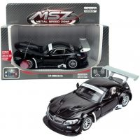 HM Studio kovový model BMW Z4 GT3 černé 1:24