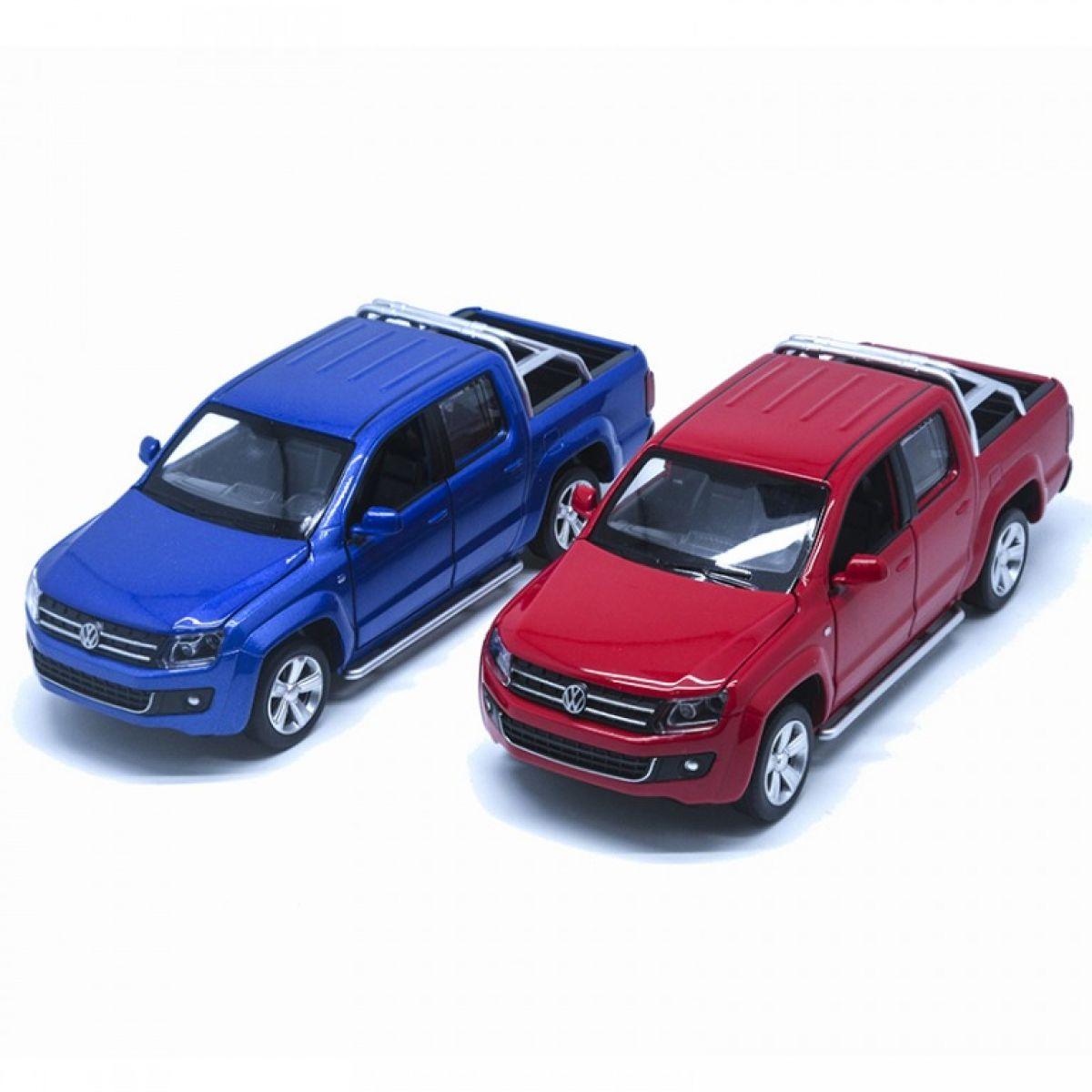 HM Studio kovový model Volkswagen Amarok červený 1:30