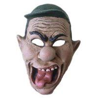 HM Studio Maska gumová s šiltovkou
