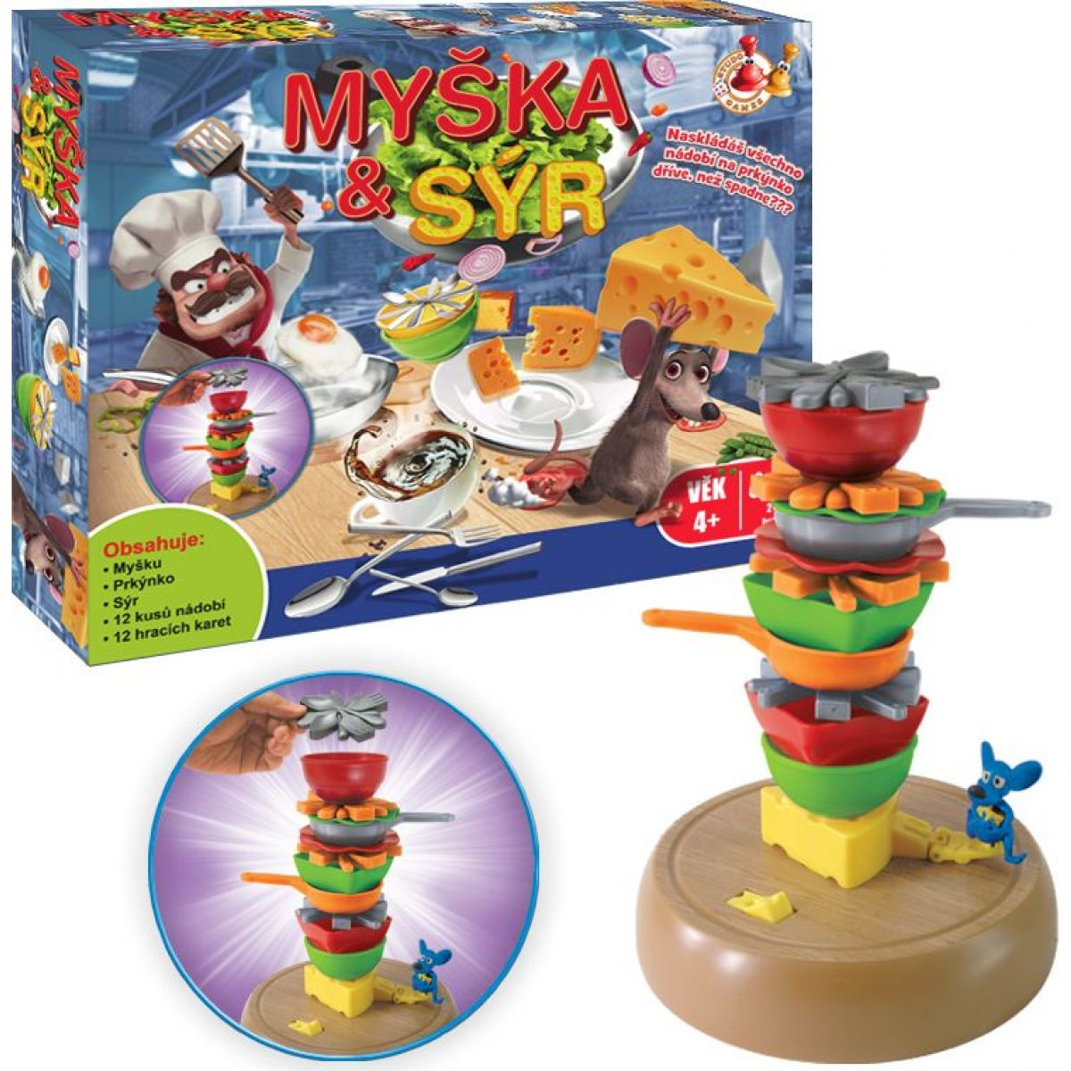 Studo Games Myška a sýr