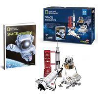 HM Studio National Geographic Puzzle 3D Vesmírna misia 80 dielikov
